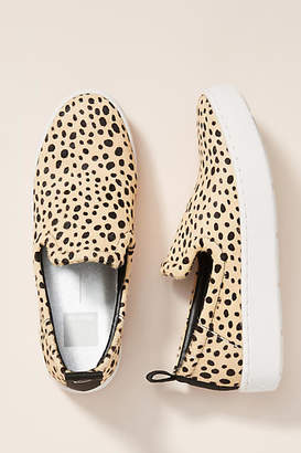Dolce Vita Leopard Slip-On Sneakers
