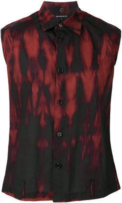 Ann Demeulemeester sleeveless printed shirt
