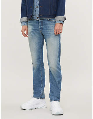 Acne Studios 1996 faded regular-fit straight jeans