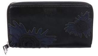 Sonia Rykiel Leather Continental Wallet