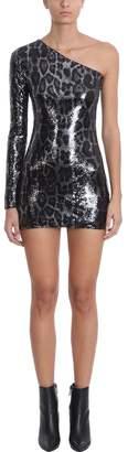 RtA One Shoulder Sequins Dress