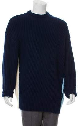 Cédric Charlier Wool Ribbed Sweater