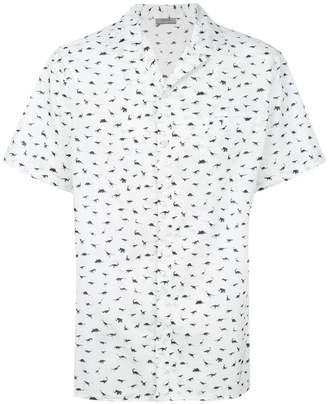 Lanvin Dinosaur print shirt