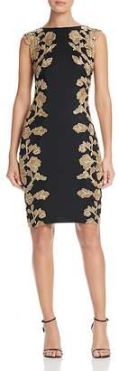 Tadashi Shoji Floral Lace Detail Dress $448 thestylecure.com