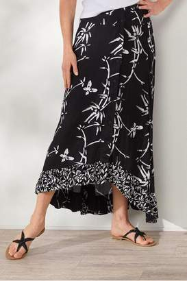 Soft Surroundings Sideswept Skirt