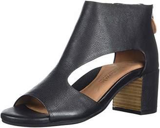 Gentle Souls by Kenneth Cole Women's Charlene Peep Toe T-Strap Mid-Heeled Sandal Sandal