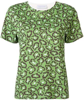 Christian Wijnants abstract floral printed T-shirt