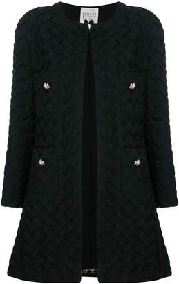 Edward Achour Paris woven coat