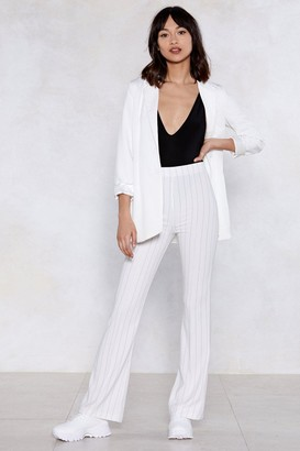 Nasty Gal Feeling Line Striped Pants