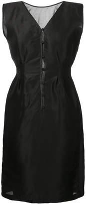 Zambesi fitted waist button-front dress