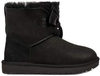 UGG Black Gita Bow Mini Low Boot