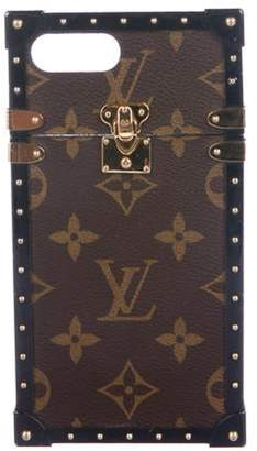 Louis Vuitton Monogram Eye-Trunk iPhone 7 Plus Case Brown Monogram Eye-Trunk iPhone 7 Plus Case
