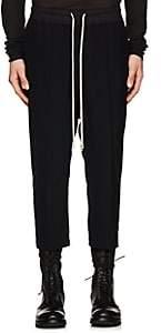 Rick Owens Men's Astairs Drop-Rise Crop Pants - Black