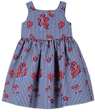 Pippa & Julie Stripe Floral Dress