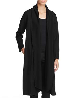 Eileen Fisher Wool Duster Coat - 100% Exclusive $398 thestylecure.com