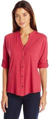 Woolrich Women's Silverwood Convertible Knit Shirt