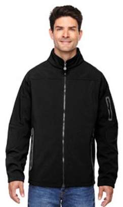 Ash City - North End Men's Three-Layer Fleece Bonded Soft Shell Technical Jacket - BLACK 703 - S 88138