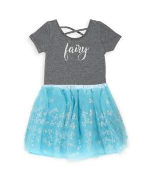 TUTU COUTURE Toddler's Dress Up Two-Piece Bodysuit& Tulle Skirt Set