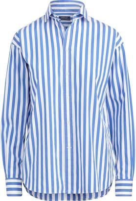 Ralph Lauren Bengal-Stripe Cotton Shirt