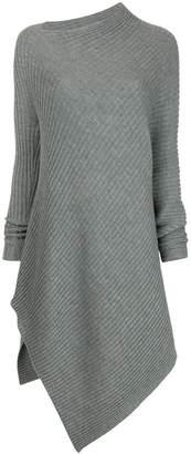 Taylor asymmetric midi sweater dress