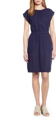 Caslon Linen Blend Dress