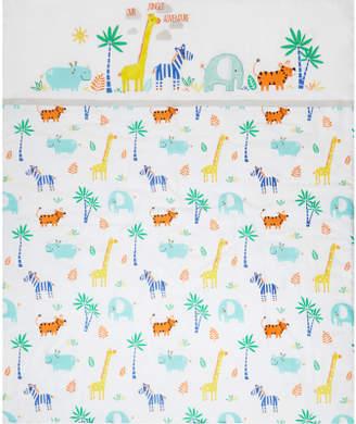 George Tropical Safari Print Cot & Cotbed Quilt