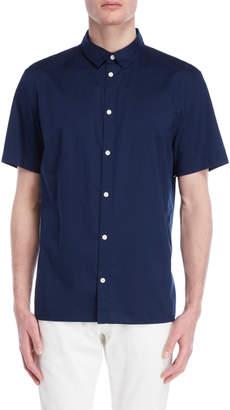 DKNY Medieval Blue Tab Collar Shirt