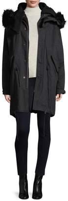 IRO Women's Ismery Faux Fur-Trimmed Parka