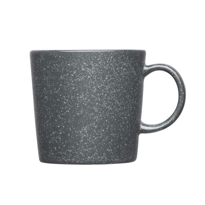 Teema Becher mit Henkel, 0,3 l, gesprenkelt Grau