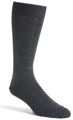 Nordstrom Rib Wool Blend Socks