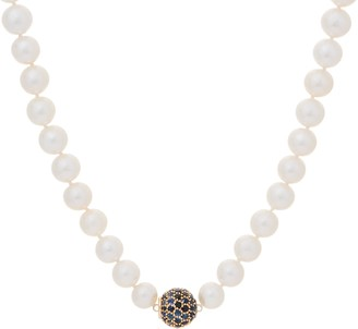 """Honora Ming Cultured Pearl & Gemstone 18"""" Necklace, 14K Necklace, 14K"""