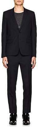 Saint Laurent Men's Classic Wool Two-Button Suit - Navy