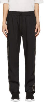 Cmmn Swdn Black and Beige Buck Track Pants