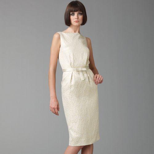 Dior Jaquard Sheath Dress