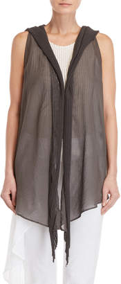 Lost & Found Hooded Draped Vest