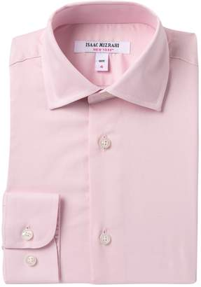 Isaac Mizrahi Solid Pink Shirt (Toddler, Little Boys, & Big Boys)