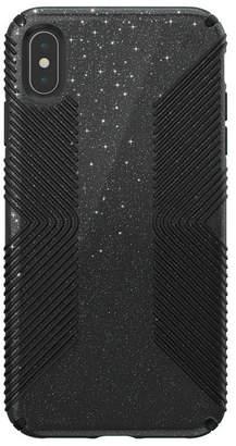 Speck iPhone Xs Max Presidio Grip + Glitter Case