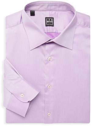 Ike Behar William Cotton Dress Shirt
