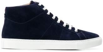 Eleventy hi-top sneakers