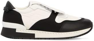 Givenchy Nylon & Leather Running Sneakers