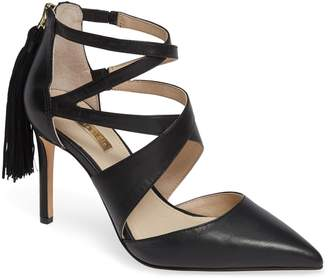 0a324efb5006 Louise et Cie Jemmy Strappy Pointy-Toe Pump