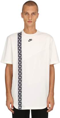 Nike Nsw Ss Taped Poly Top