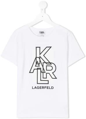 Karl Lagerfeld branded T-shirt