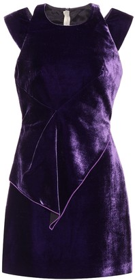 Roland Mouret Exclusive to mytheresa.com Torrens velvet dress
