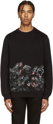 Givenchy Black Monkey Pullover $1,070 thestylecure.com