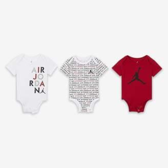 super popular 3c465 62b0e Nike Baby (0-9M) Bodysuit Set (3 Pack) Air Jordan