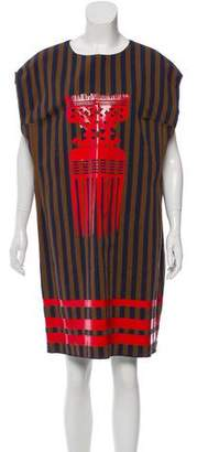Ter Et Bantine Striped Oversize Dress