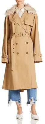 Elizabeth and James Stratford Oversize Trench Coat