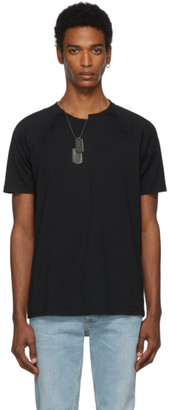 Givenchy Black Slim Fit Chain T-Shirt