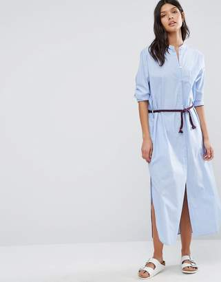 Maison Scotch Maxi Shirt Dress